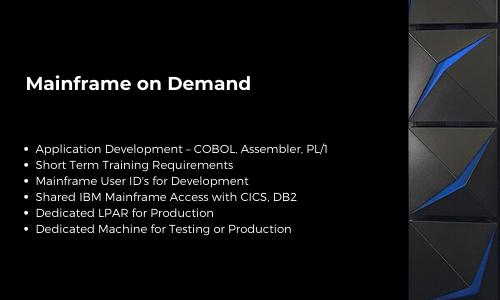 Mainframe on Demand